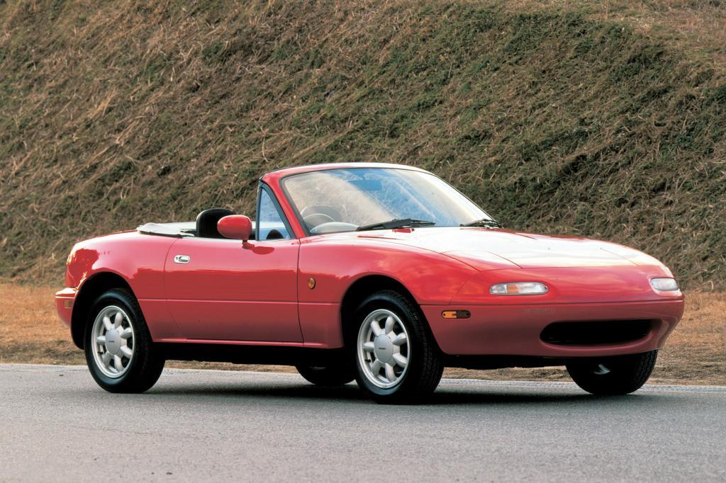 Seit 1989 wird der kleine Mazda verkauft