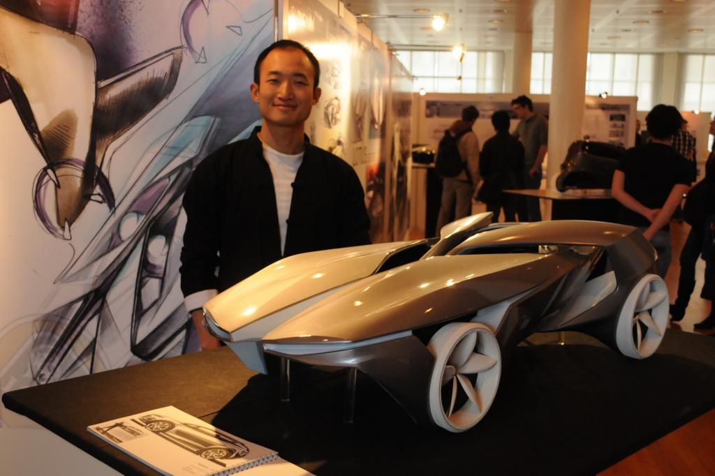 Siming Yan und sein futuristisches Lotus-Konzept
