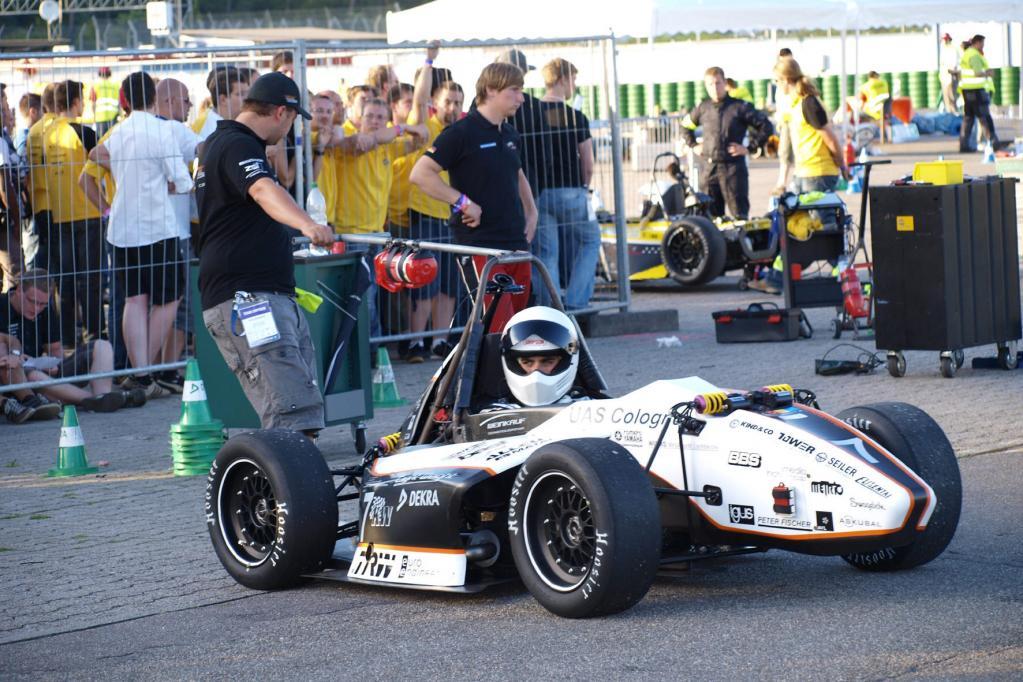 Studenten geben Gas - mit selbst konstruierten Fahrzeugen