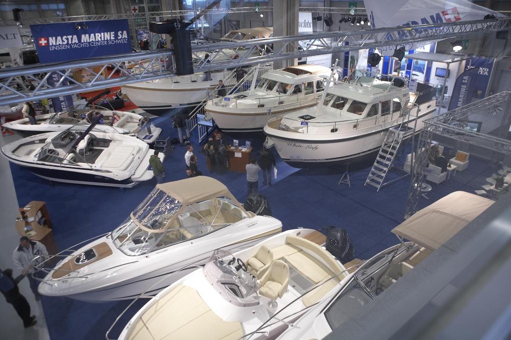 SuisseNautic: 6. Nationale Boots- und Wassersport-Show vom 12. - 20.02.2011 in Bern