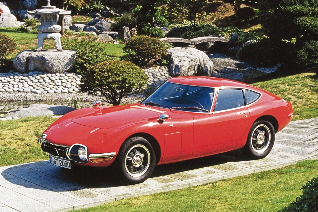 Toyota 2000 GT, 1967.