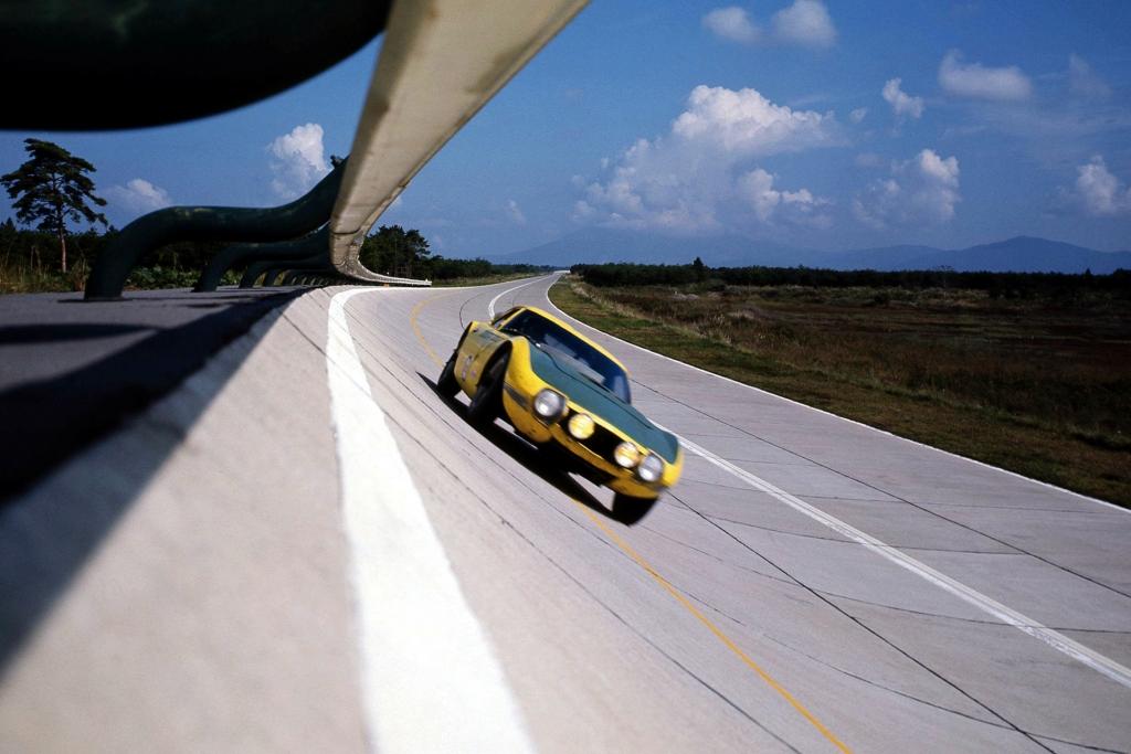 Toyota 2000 GT Geschwindigkeitsweltrekord, 1968.