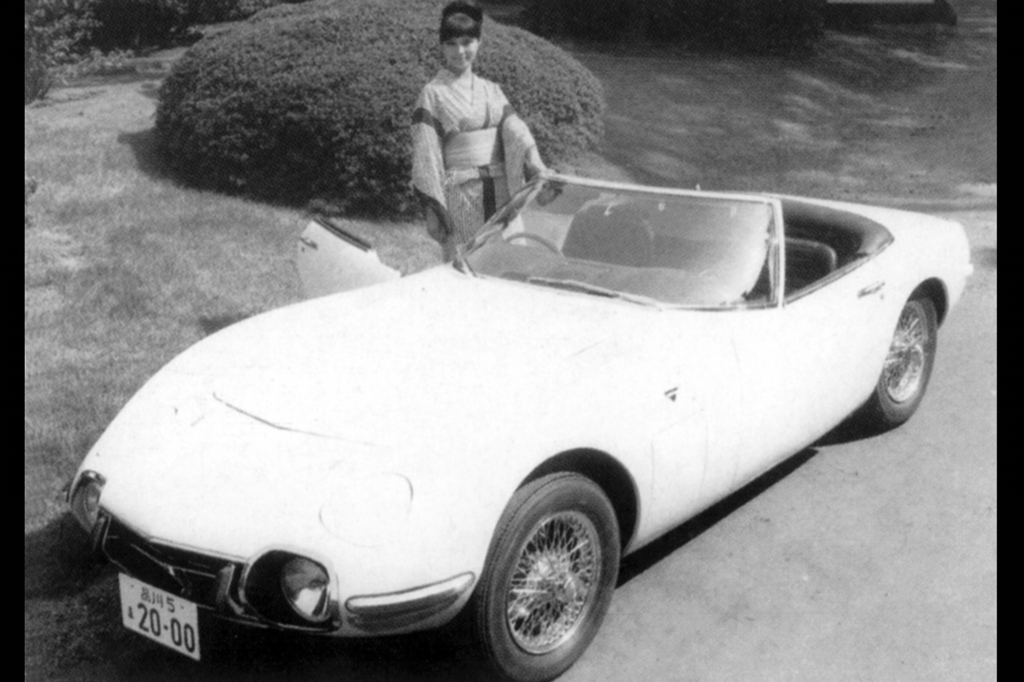 Toyota 2000 GT, James Bond Filmauto, 1968.
