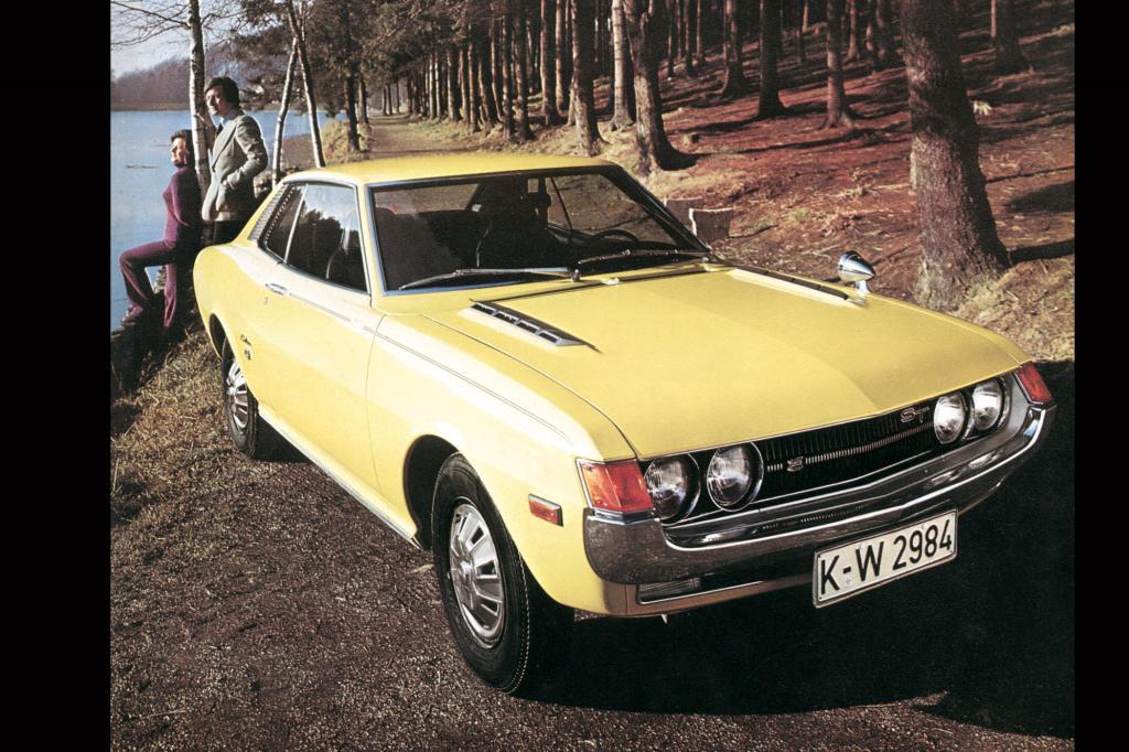 Toyota Celica 1600 Coupe, 1972