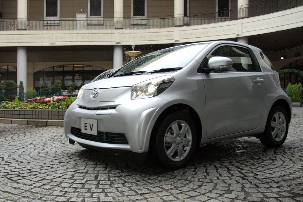 Toyota hat den iQ als Elektromobil mit nach Genf gebracht.