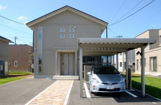 Toyota testet intelligentes Stromnetz