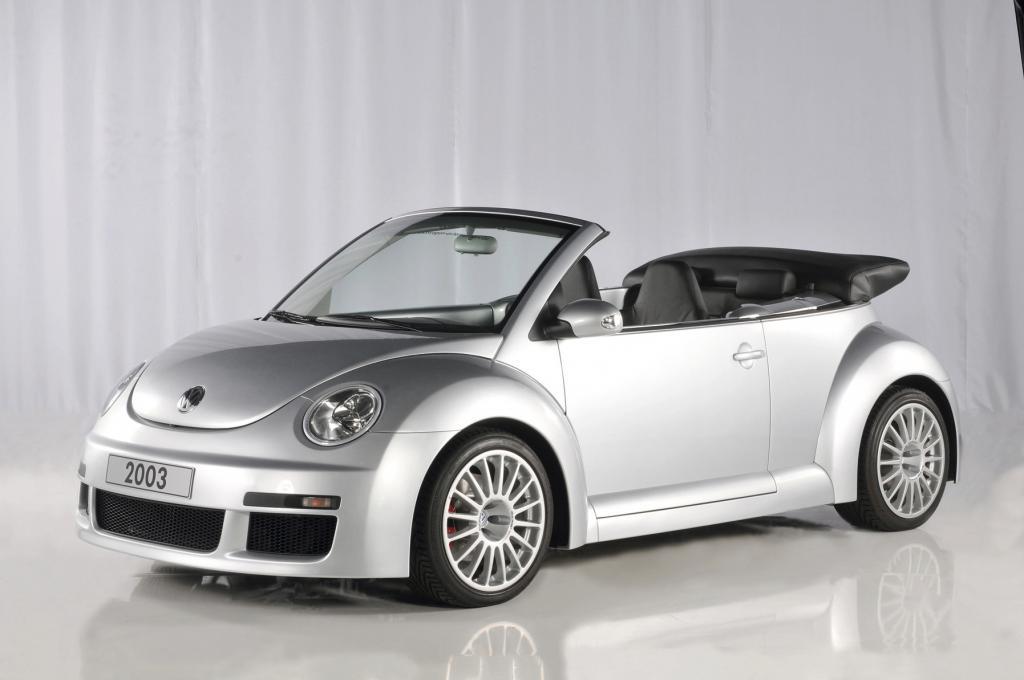 Volkswagen Golf New Beetle Cabrio.