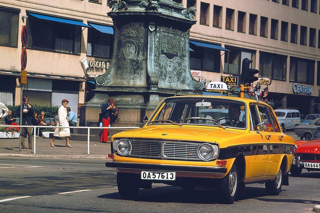 Volov 144 Taxi, 1970