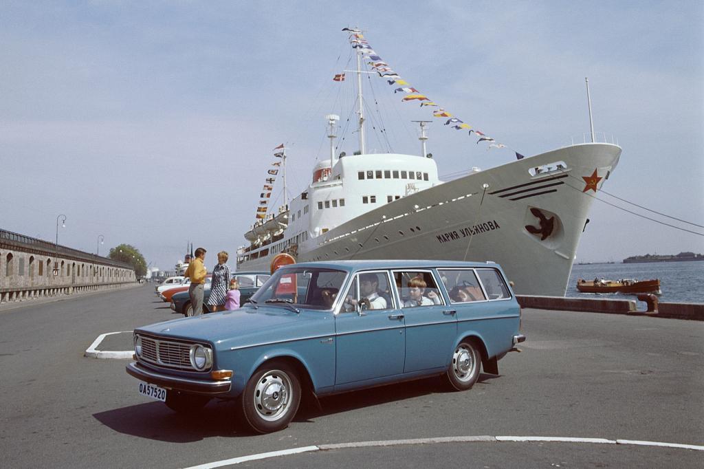 Volvo 144, 1970