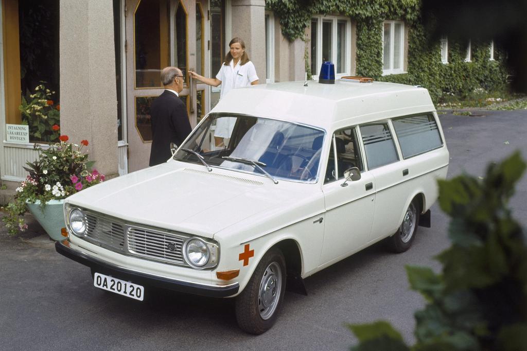Volvo 144 Express Ambulance, 1970