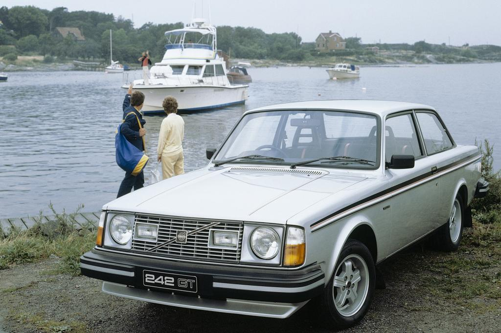 Volvo 242 GT, 1980