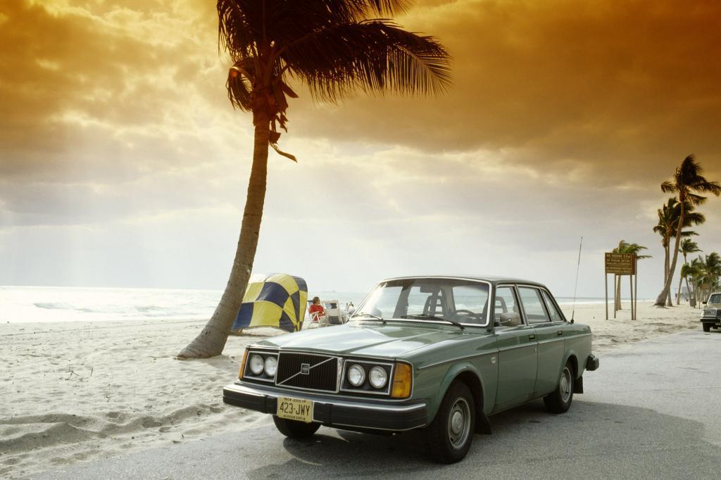 Volvo 244 USA Ausführung, 1980