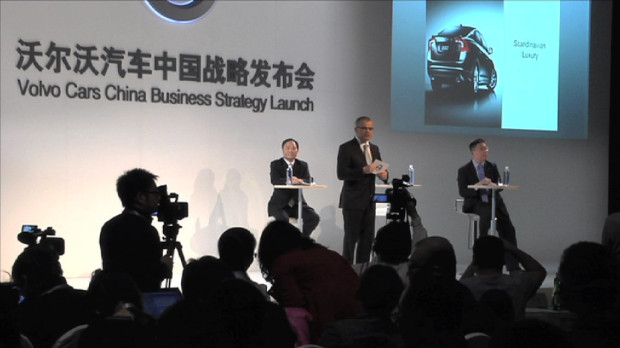 Volvo plant zwei Werke in China