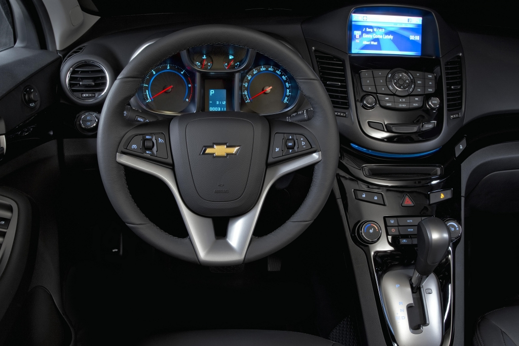 Vorstellung Chevrolet Orlando: Sieben Sitze serienmäßig