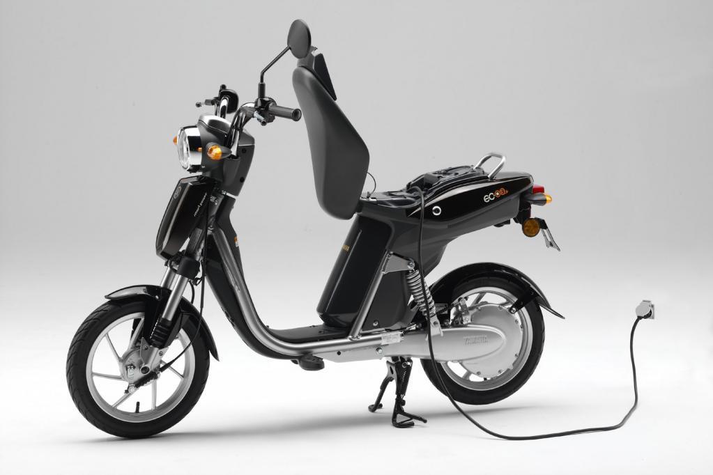 Yamaha bietet den E-Roller EC-03 in einer Kleinserie an.