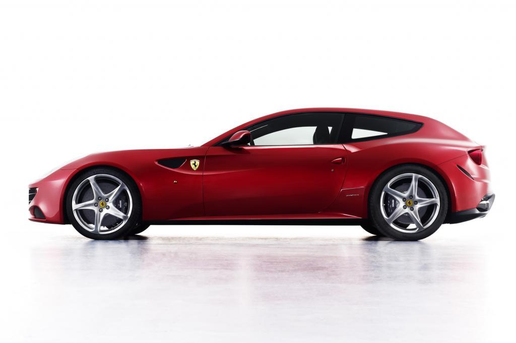 Zum ersten Mal gibt es einen Ferrari mit Allradantrieb, den FF