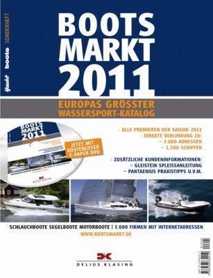 auto.de-Buchtipp: Bootsmarkt 2011 - Europas größter Wassersport-Katalog