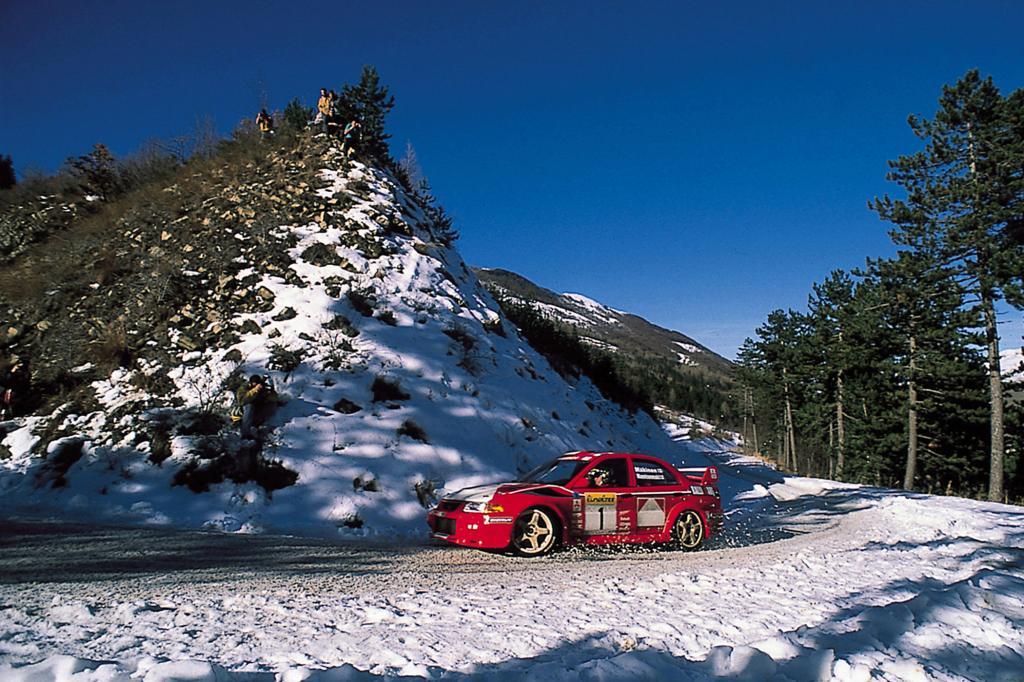 1999 bei einer Rallye an der Cote d'Azur