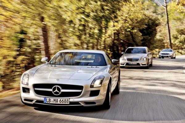 AMG-Driving-Academy mit dem SLS GT3