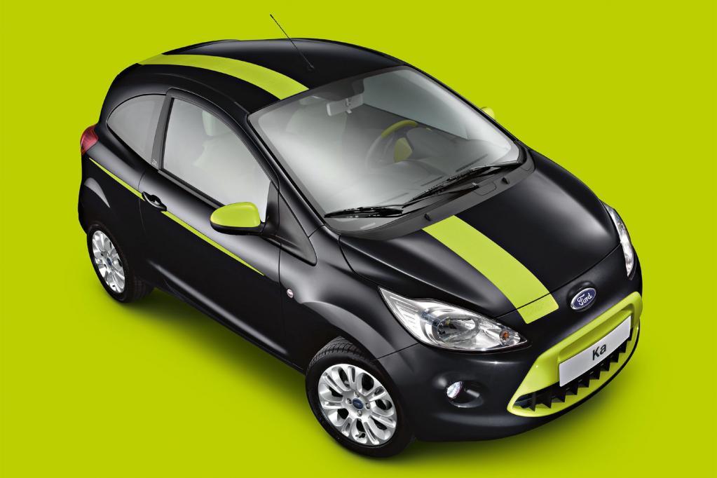 Auch Ford bietet Individualisierungsmöglichkeiten für seine Modelle wie den kleinen Ka an.