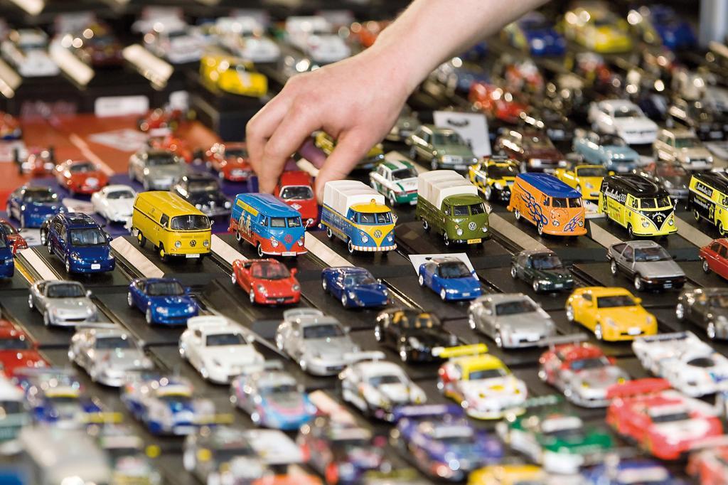 Auch viele Miniaturklassiker werden angeboten