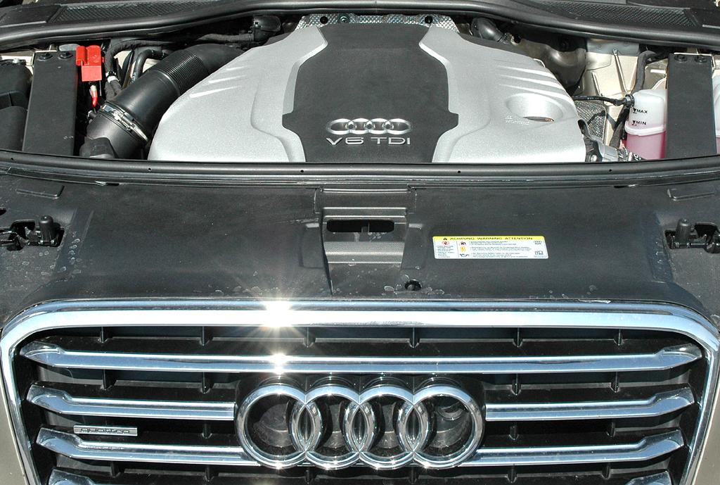Audi A8: Das 3,0-Liter-Aggregat stellt 550 Newtonmeter zur Verfügung.