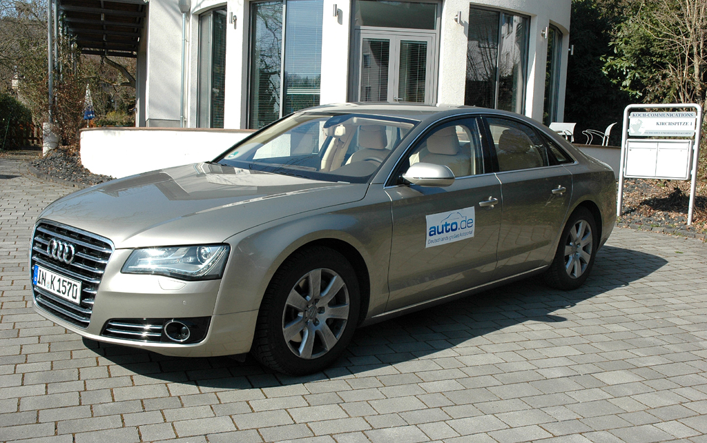 Audi A8, hier als 250-PS-Turbodiesel.