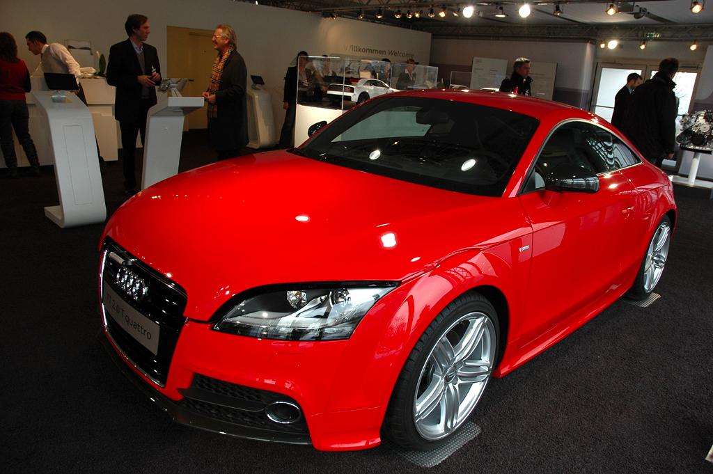 Audi-Leichtbau: Die zweite TT-Generation bringt bereits bis zu 90 Kilo weniger auf der Waage.