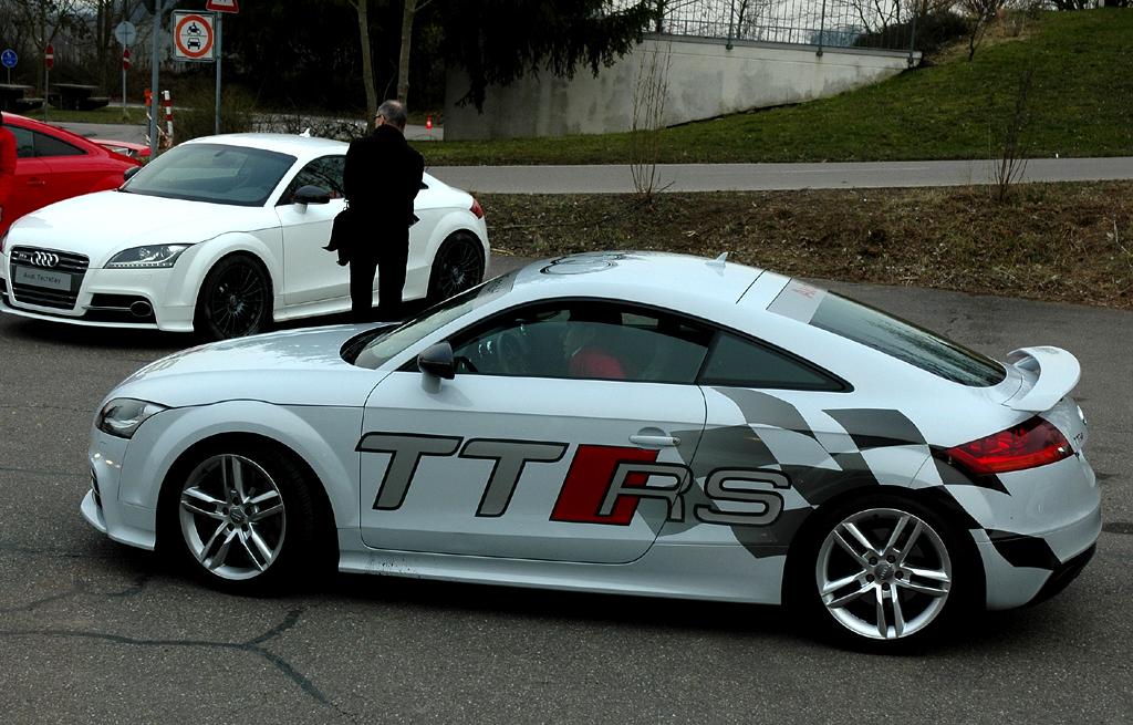 Audi-Leichtbau: Dieser 272-PS-TTS-Prototyp wiegt 80 Kilo weniger als das Serienmodell.