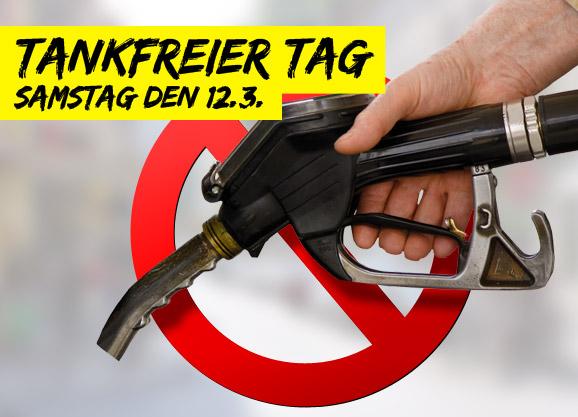 Aufruf: Tankfreier Samstag gegen E10!