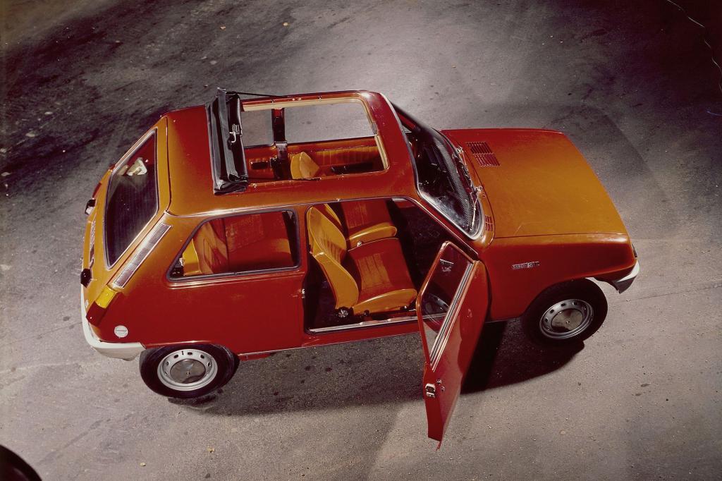 Aus Frankreich kam der Renault 5