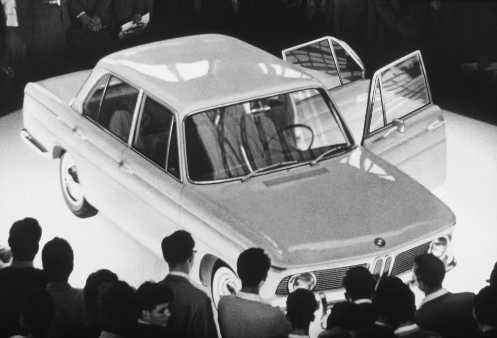 BMW 1500 auf der Automobilausstellung 1961 in Frankfurt.