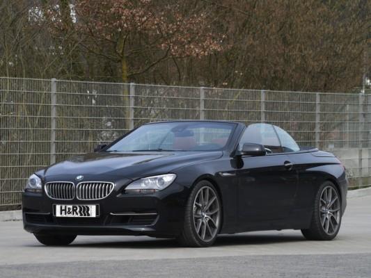 BMW 6er Cabrio: H&R legt GranTursimo tiefer