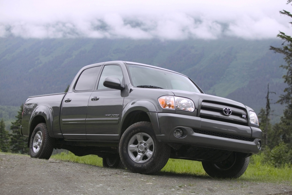 Beim Toyota Tundra sitzen Kinder nicht in der ersten Reihe.