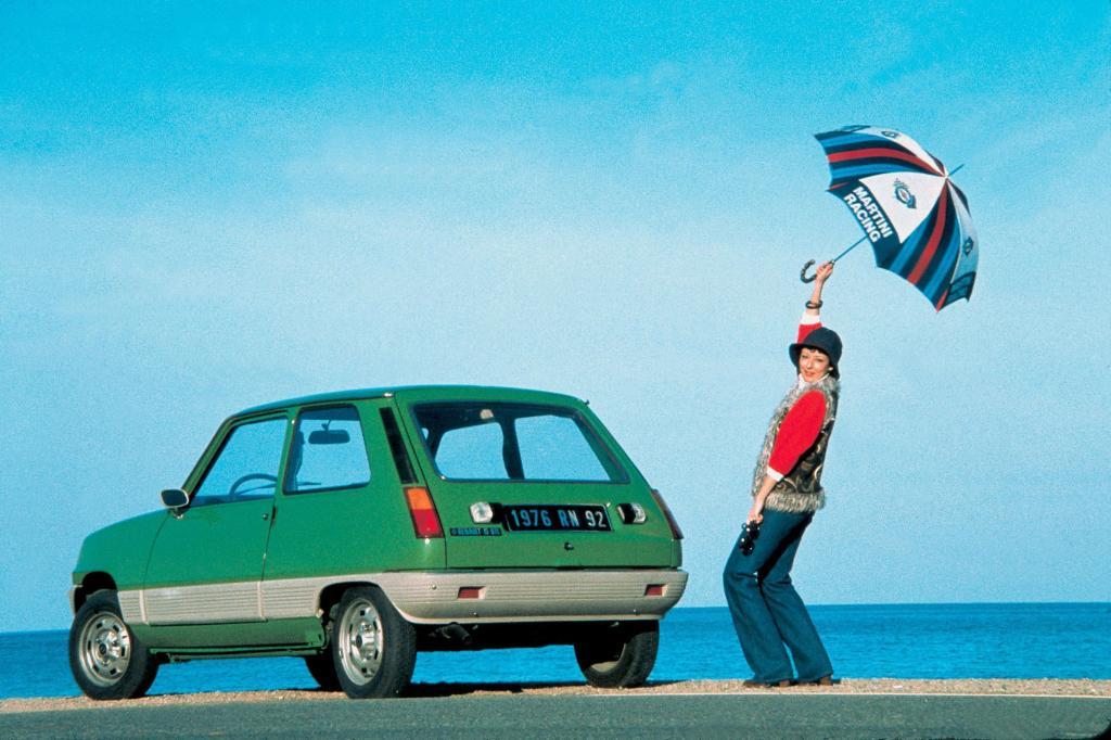 Besonders die große Heckklappe machten den Renault beliebt