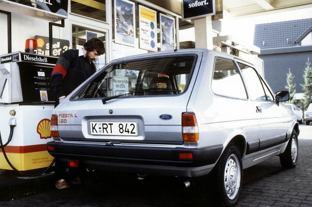 Besonders genügsam war der Kleinwagen als Diesel