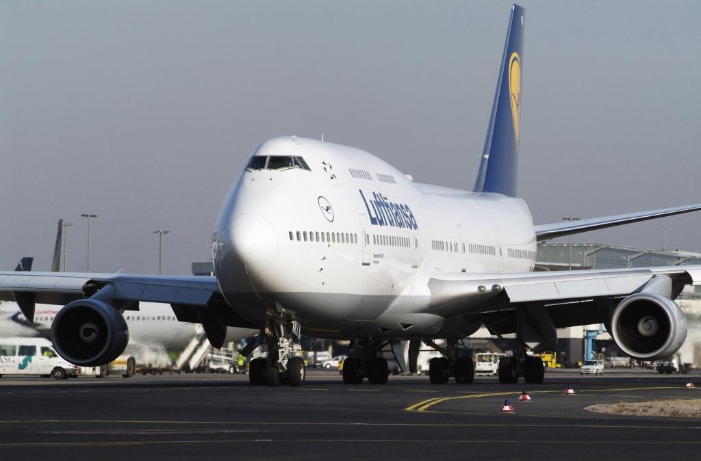 Boeing 747 der Lufthansa.