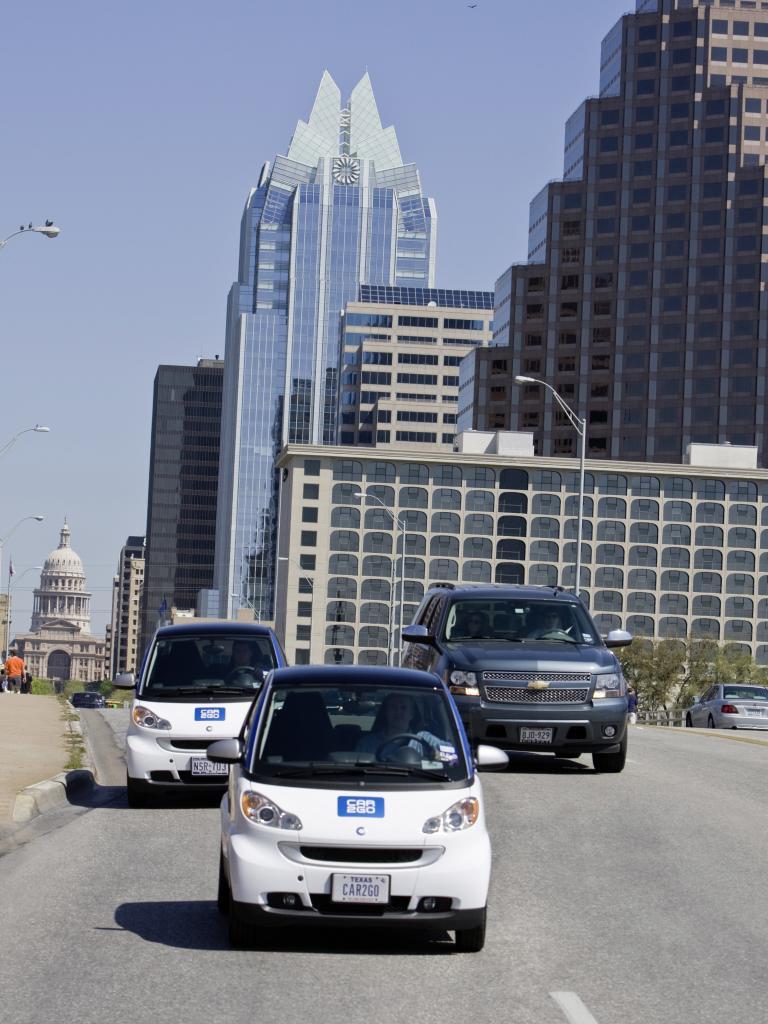 Car2go in Austin, Texas.