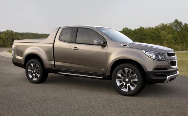 Chevrolet zeigt Colorado-Studie erstmals in Bangkok
