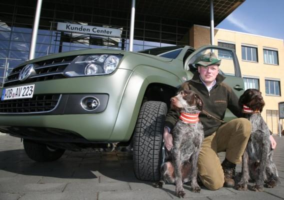 Chris Balke fährt jetzt Volkswagen Amarok
