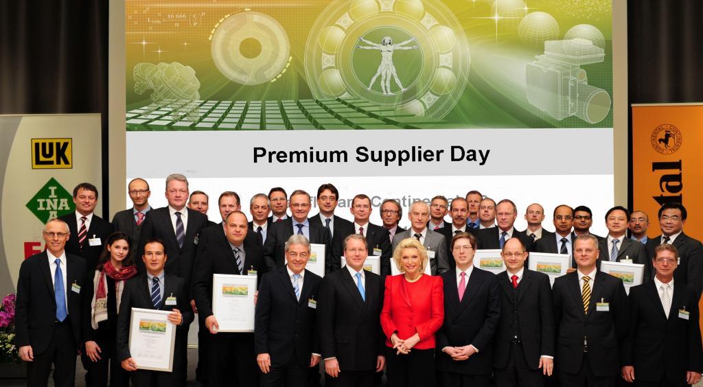 Continental und Schaeffler zeichnen Premium-Lieferanten aus