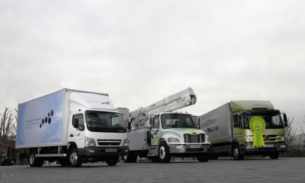 Daimler setzte 355 263 Lastwagen ab