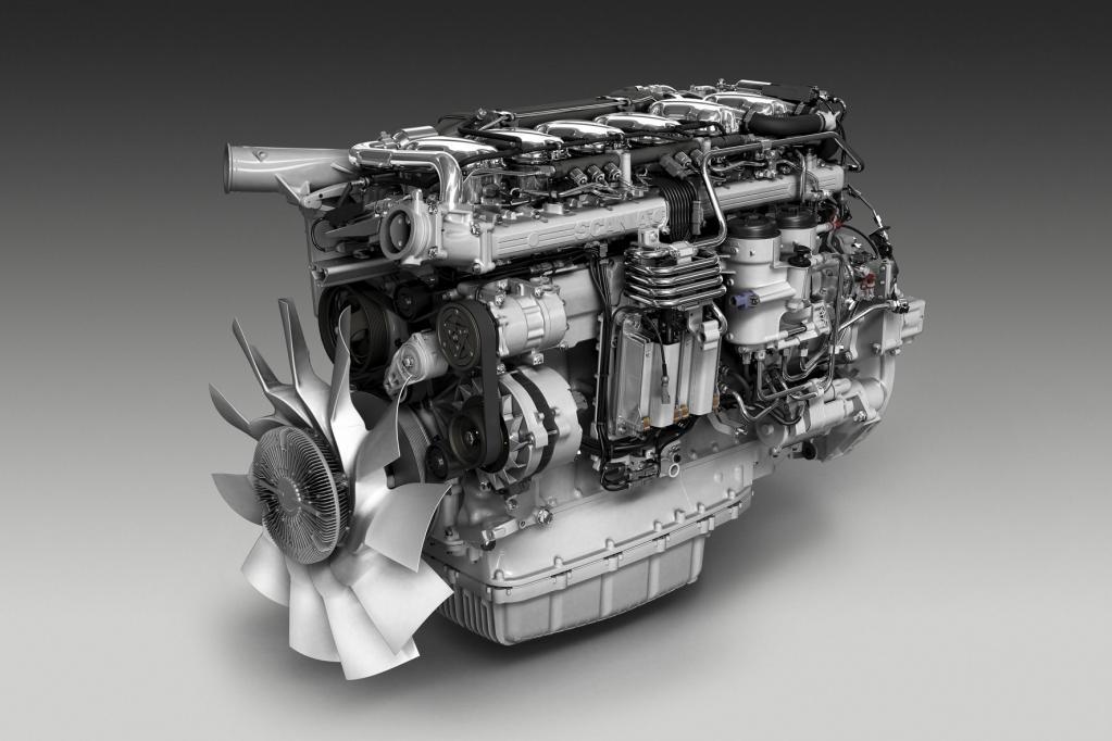 Das 13-Liter-Triebwerk ist in zwei Leistungsstufen zu haben.