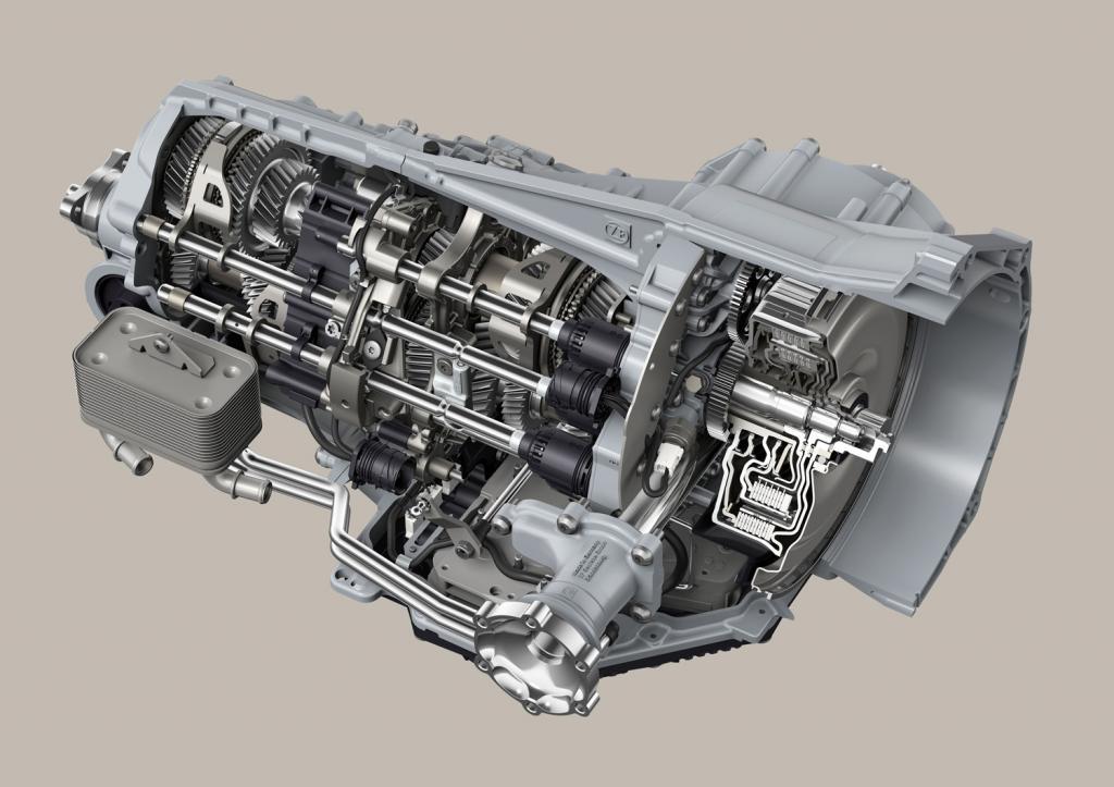 Das 7DTSportgetriebe überträgt Drehmomente bis 780 Nm.