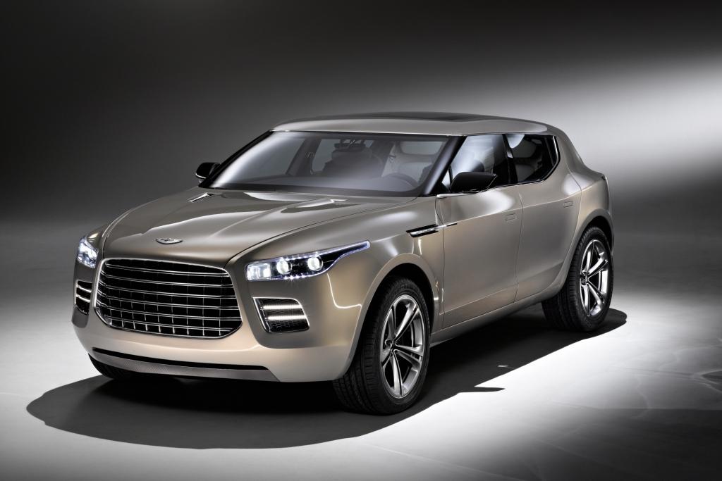 Das Aston Martin Lagonda Concept sorgte in Genf für Aufruhr.
