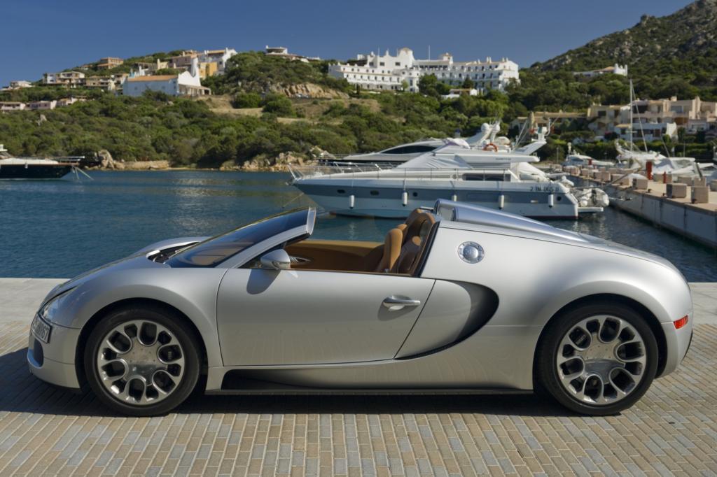 Das wohl exklusivste Seriencabrio der Welt: der Bugatti Veyron Grand Sport