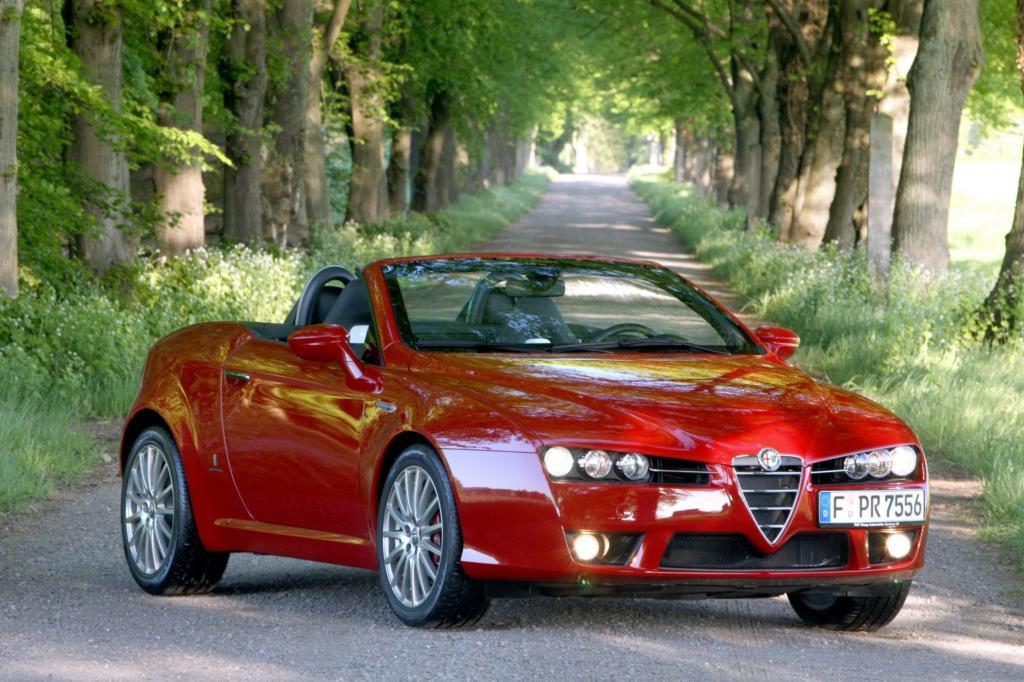 Den Alfa Spider gibt es auch als Diesel
