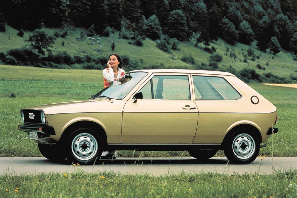 Der Audi war baugleich mit dem VW Polo