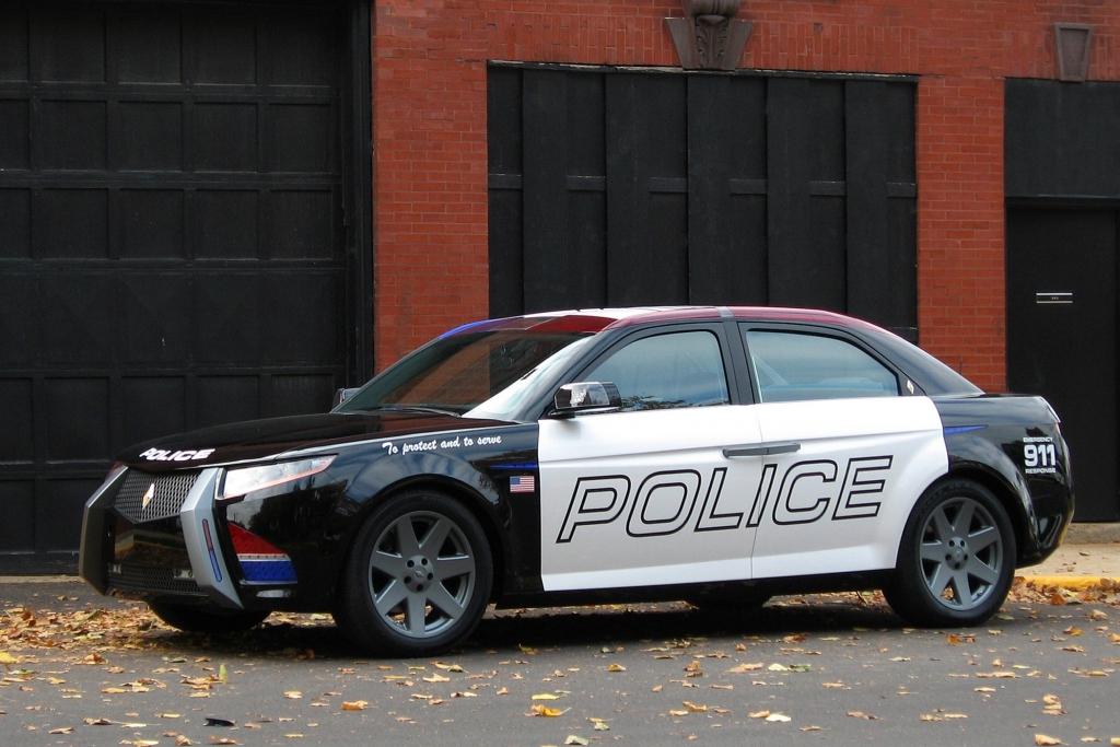 Der Carbon E7 wurde speziell für den Polizeieinsatz entwickelt.