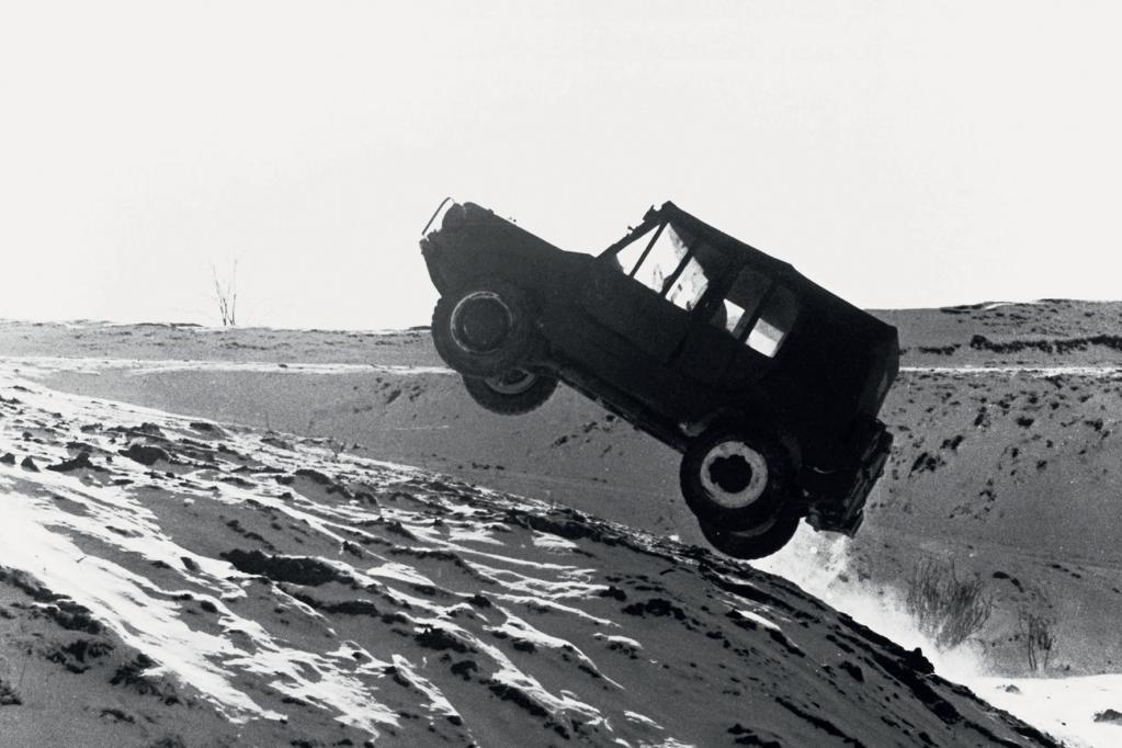 Der DKW Munga ist ein echter Geländegänger.